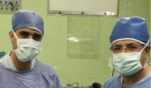 تصاویری از اتاق عمل و در حال عملی جراحی ترمیمی